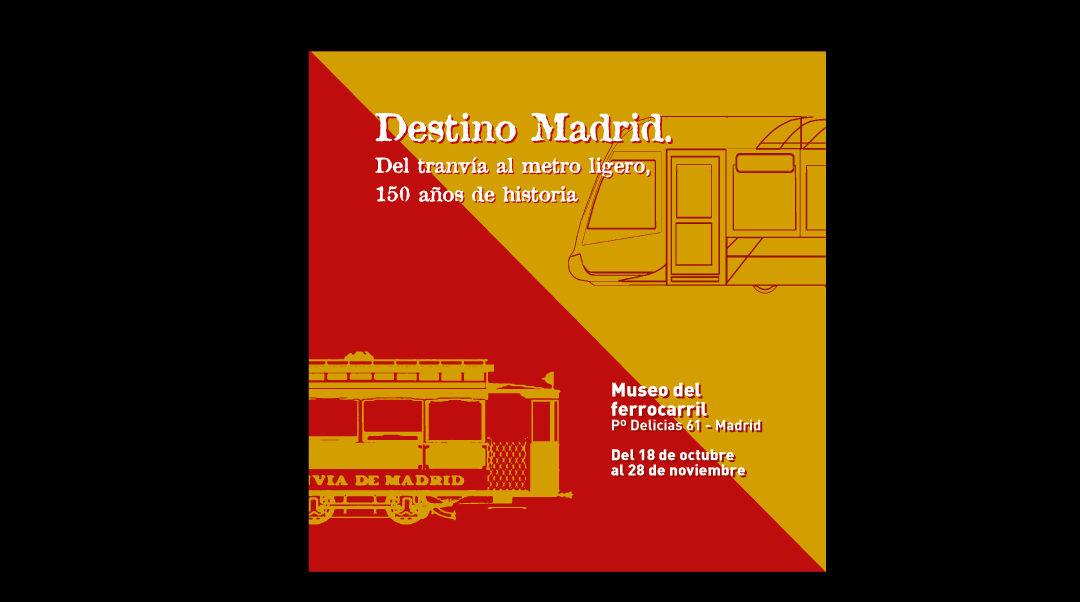 150 años del tranvía en Madrid